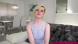 Young Pearl Sinclair takes a hard cock stuffing in first scene