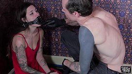 Tiny slave gets roughly...