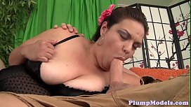 Pussylicked bbw gets spoon...