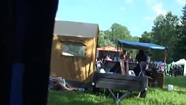 Outdoor festival amateur couple have sex secret cam | amateurcamm.com xxx image