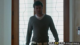 Brazzers - Baby Got Boobs -  Sneaky Slut Gets Caught Red Handed scene starring Brandy Aniston and Ja
