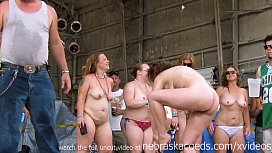 real women going wild at midwest biker rally