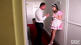 Gorgeous Maid Ally Breelsen...