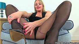 England'_s hottest milfs in tights collection