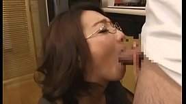 Asian mom forced suck...