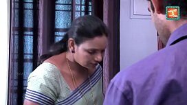 Saree aunty seducing and...