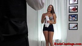 Curvy teenie roughly pounded...