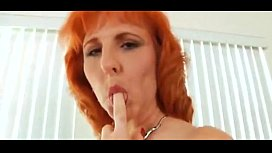 Mature With Hairy Red Bush - More Videos On FreeXXXwebcams.org
