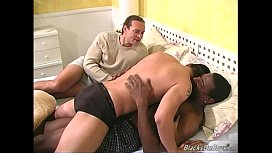 Gay black couple fucks...