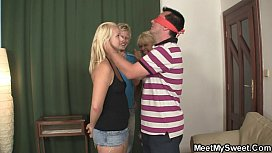 Perverted parents lure his...