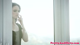 Smalltits beauty gets banged in doggystyle