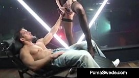 Swedish Porn Queen Puma Swede Fucks Johnny's Big Thick Cock! porn vid
