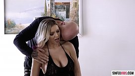 Fantastic busty babe Kenzie Taylor with Derrick Pierce in He Loves Me In Stockings &amp_ Heels 2 Scene 4