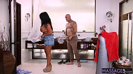 Client wanted slut and he fucked so hard mature with amazing huge boobs Raven Hart