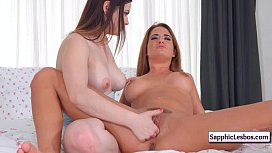 Sapphic Erotica Lesbians Free movie from www.SapphicLesbos.com 22