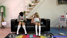 Schoolgirl euros showing bodies...