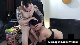 French Fucklord Alex Legend Slams Cock Into Sovereign Syre!