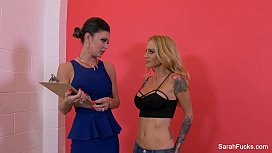 Sarah Jessie seduces a...