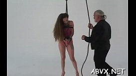 Mature loves extreme slavery scenes to stimulate her cunt