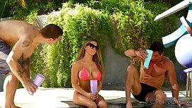 Rachel Roxx Dealing With Two Studs