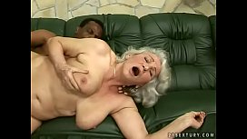 Interracial granny fuck...