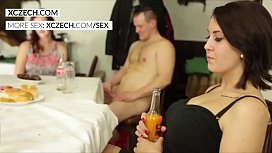 Crazy czech wedding orgy...