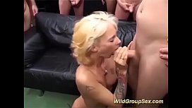 Skinny german milfs first...