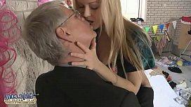 Old young kissing compilation...