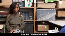 ShopLyfter - Cute Ebony Teen...