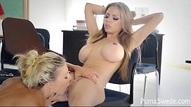 Euro babe Puma Swede with Yuri Love!