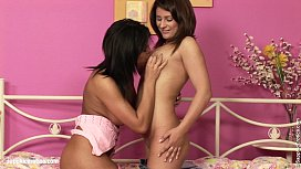 Hot lesbian fingering and...