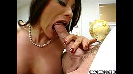Delicious teacher fucked in...