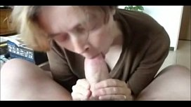 Granny Wife Swallowing Another man's Cum