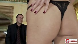 Dominica Fox  Group Anal Sex From Two Men HD