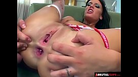 BrutalClips - Holly Wellin Gets...