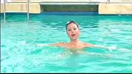 Naked Synchronized Swimming - Whos That Girl