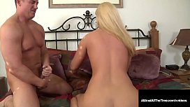Platinum Blonde Roxy Raye Ass Hammered In Her Poop Chute!