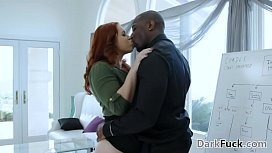 My hairy pussy needs my boss'_ big black cock - Edyn Blair and Rob Piper