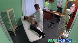 FakeHospital Doctors talented digits make MILF squirt uncontrollably during sexy preview