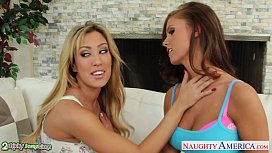 Bisexual chicks Capri Cavanni...