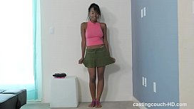 Sensitive casting couch teen...