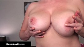 Busty Maggie Green Sets...