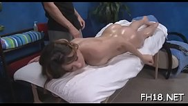 Watch these gals get fucked hard by their massage therapist
