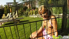 Tamed teens Caged cutie...