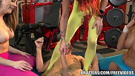 Brazzers - Gym Foursome and...