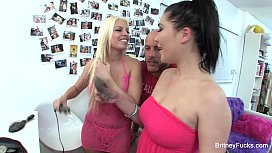 Britney Amber and London...