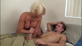 Hot Mom help Son...