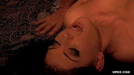 As the brunette rode him to his completion he came in her mouth