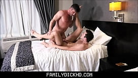 Step Dad Punish Fucks Twink Step Son For Stealing Cash From His Wallet