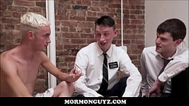 Blonde Mormon Twink Has...